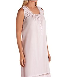 Eileen West Lace Cotton Lawn Long Ballet Nightgown 5220145