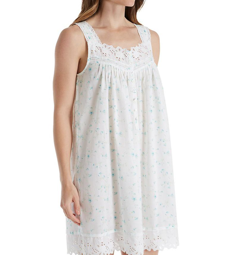 Eileen West Floral Toss Short Chemise 5316153