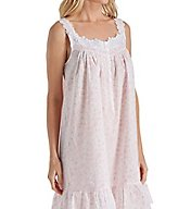 Eileen West Rose Print Cotton Lawn Short Chemise 5316169