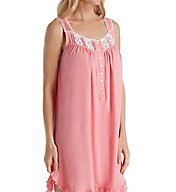 Eileen West Butterfly Cotton Jersey Short Chemise 5316171