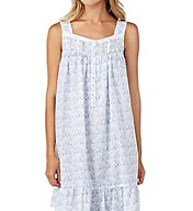 Eileen West Elephant Cotton Lawn Short Chemise 5316180