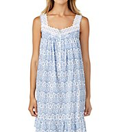 Eileen West Floral Scroll Short Chemise 5316184