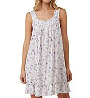 Eileen West Lilac Roses Short Chemise 5319816