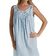Eileen West Everyday Sleeveless Short Chemise 5319842