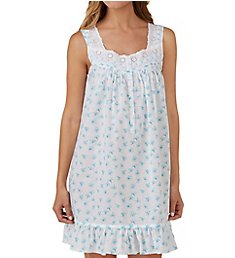 Eileen West Seaglass Cotton Lawn Short Chemise 5319844
