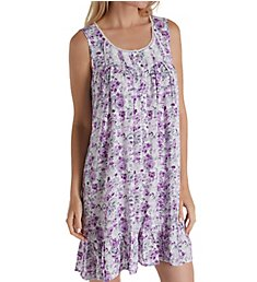 Eileen West Lilac Rose Chemise 5319944