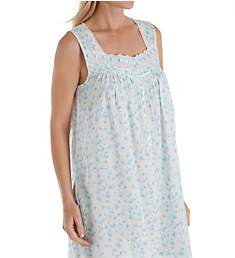 Eileen West Seaglass Floral Cotton Lawn Chemise 5319952