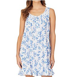 Eileen West Spring Floral Cotton Modal Short Chemise 5319988