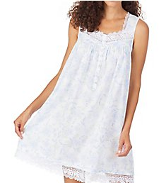 Eileen West 100% Cotton Lawn Short Chemise 5320093