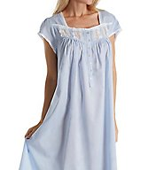 Eileen West Blue Heather Cotton Lawn Ballet Nightgown 5416180