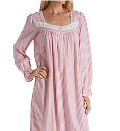 Eileen West Ruby Flannel Ballet Nightgown 5419828