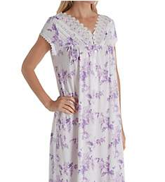 Eileen West Cotton Modal Cap Sleeve Ballet Nightgown 5419945