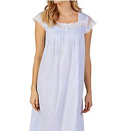 Eileen West Blooming Blue Capsleeve Ballet Nightgown 5419968