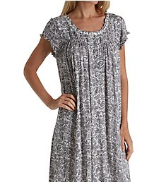 Eileen West Floral Sketch Modal Waltz Nightgown 5519831