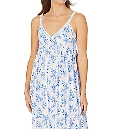 Eileen West Spring Floral Cotton Modal Ballet Cupped Nightgown 5519988