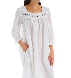 Eileen West Rosebud Cotton Lawn Ballet Long Sleeve Nightgown 5520031