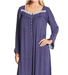 Eileen West Long Sleeve Modal Spandex Knit Waltz Nightgown 5520183