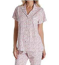 Eileen West Ditsy Capri PJ Set 5719858