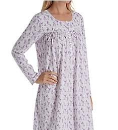 Eileen West Cotton Jersey Long Sleeve Ballet Nightgown 5819949