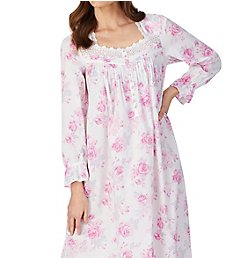 Eileen West 100% Cotton Woven Ballet Button Front Robe 5820113