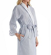 Eileen West Dainty Seersucker Ballet Wrap Robe 5916161