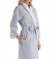 Eileen West Dainty Seersucker Ballet Wrap Robe 5916161