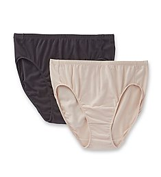 Elita The Essentials Classic Cut High Cut Brief - 2 Pack 4025PK