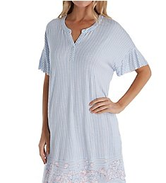 Ellen Tracy Sail Away Short Sleeve Sleepshirt 8021348