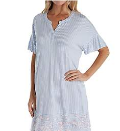 Ellen Tracy Sail Away Short Sleeve Sleepshirt 8021348