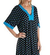Ellen Tracy Falling for Blue Short Caftan 8118534