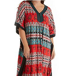 Ellen Tracy Medallion Long Caftan 8118556