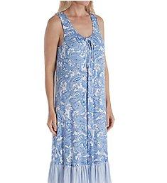 Ellen Tracy Sail Away Midi Gown with Shelf Bra 8221348