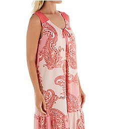 Ellen Tracy Sunset Sleeveless Short Gown with Shelf Bra 8222938