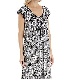 Ellen Tracy Yours to Love Short Sleeve Ballet Gown 8615332