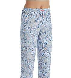Ellen Tracy Ocean Blue Cropped Pant 8621347