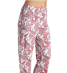 Ellen Tracy Pink Sunrise Cropped Pant 8621486