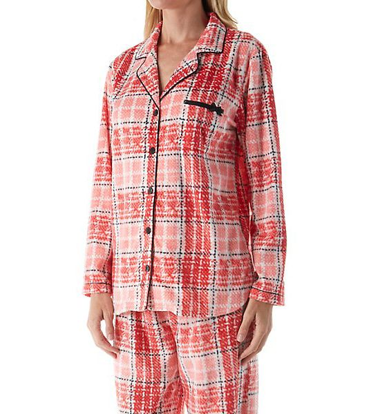 Ellen Tracy Fleece Notch PJ Set 8718465