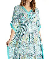 Ellen Tracy Coastal Charm Long Caftan 8718503