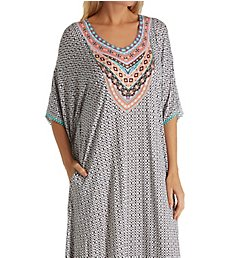 Ellen Tracy Spring Geo Long Caftan 8718602