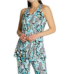 Ellen Tracy Bloom Cropped Pant PJ Set 8722973