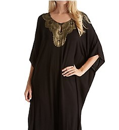 Ellen Tracy Medallion Long Caftan 8818556