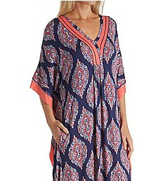 Ellen Tracy Medallion Long Caftan 8818607