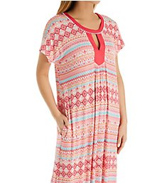 Ellen Tracy Long Medallion Caftan 8921400
