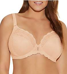 Elomi Carmen Underwire Plunge Bra with Stretch Cup EL4010