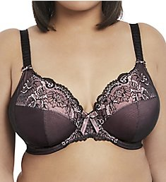 3dc22d794ae54 Elomi Anushka Underwire Plunge Bra with Stretch Cup EL4061
