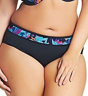 Elomi Abstract Mid Rise Brief Swim Bottom ES7074