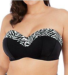 Elomi Zulu Rhythm Underwire Bandeau Bikini Swim Top ES7253
