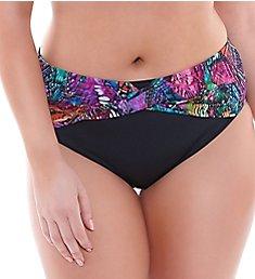 Elomi Kaleidoscope Twist Front Brief Swim Bottom ES7430