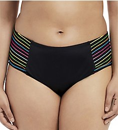 Elomi Neon Nights Mid Rise Brief Swim Bottom ES7555