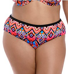040b3ce26bd3f Elomi Tribe Vibe Mid Rise Brief Swim Bottom ES7575
